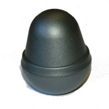 Graphite Acorn Eco Fencing Plastic Post Cap